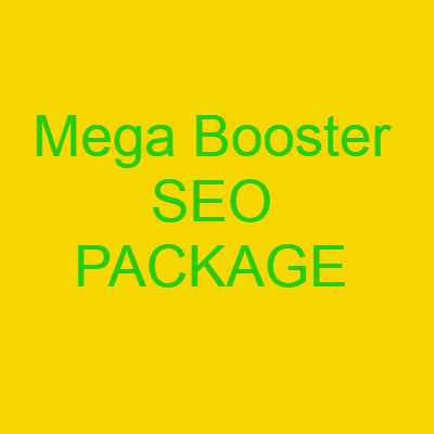 Mega Booster SEO PACKAGE