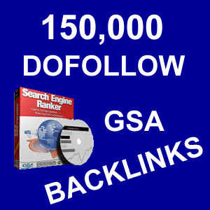 150000 GSA SER Backlinks