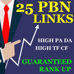 25 PBN Links To Improve Google Ranking Fast