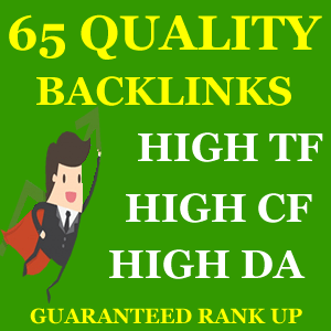 65 Top Quality Backlinks for Rank Up